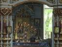 Altarul bisericii din Colonița