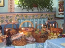 Enoriașii au sfințit bucate pentru masa de sărbătoare