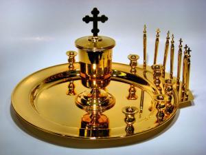 Slujba Sfântului Maslu a fost săvârșită în biserica din sat