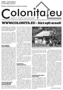 [ZIAR] Un alt nume, același ziar – WWW.COLONITA.EU